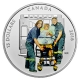 Kanada - 15 CAD Nationalhelden Sanitäter 2016 - Silbermünze