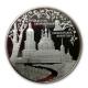 Russland - 25 Rubel Sanaksar Monastery 2010 - 5 Oz Silber PP