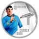 Kanada - 10 CAD Star Trek Spock 2016 - 1/2 Oz Silber
