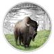 Kanada - 20 CAD Tierserie Bison 2016 - 1 Oz Silber