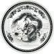 Australien - 30 AUD Lunar I Drache 2000 - 1 KG Silber - The Perth Mint Australia