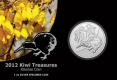 Neuseeland - 1 NZD Kiwi 2012 - 1 Oz Silber Blister - New Zealand Post