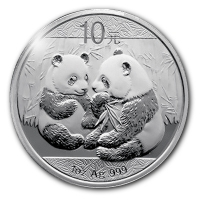 China - 10 Yuan Panda 2009 - 1 Oz Silber