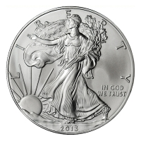 USA - 1 USD Silver Eagle 2013 - 1 Oz Silber