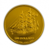 Cook Island - 1 Oz Gold