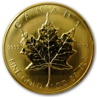 Maple Leaf - 1 Oz Gold