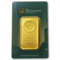 50g Goldbarren - Perth Mint
