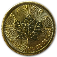 Maple Leaf - 1/10 Oz Gold