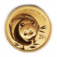 China - 20 Yuan Panda 2003 - 1/20 Oz Gold
