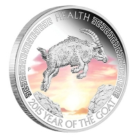 Australien - 1 AUD Sydney ANDA Coin Show Special 2014 - 1 Oz Silber
