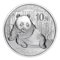 China - 10 Yuan Panda 2015 - 1 Oz Silber