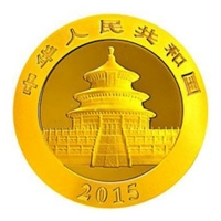 China - 500 Yuan Panda 2015 - 1 Oz Gold