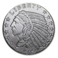 USA - American Indian Head 2014 - 1/10 Oz Silber
