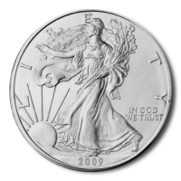 USA - 1 USD Silver Eagle 2009 - 1 Oz Silber