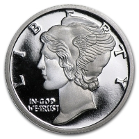 USA - Liberty (Mercury Dime) - 1/10 Oz Silber