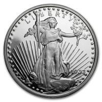 USA - Saint-Gaudens - 1 Oz Silber