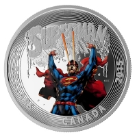 Kanada - 20 CAD Superman Cover Nr. 28 2015 - 1 Oz Silber