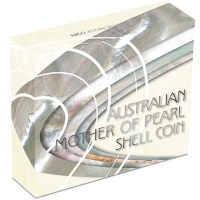Australien - 1 AUD Mother of Pearl Shell 2015 - 1 Oz Silber