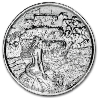 USA - Pirates Die Sirene - 2 Oz Silber