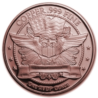 USA - American Buffalo - 1 Oz Kupfer