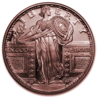 USA - Standing Liberty - 1 Oz Kupfer