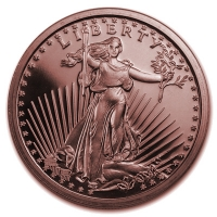 USA - Saint-Gaudens - 1 Oz Kupfer