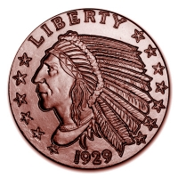 USA - Indian Head - 1 Oz Kupfer