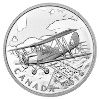 Kanada - 20 CAD Homefront Air Training 2016 - 1 Oz Silber