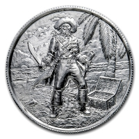 USA - Pirates The Captain - 2 Oz Silber