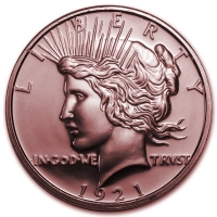 USA - Peace Dollar - 1 Oz Kupfer