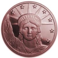 USA - Liberty Head - 1 Oz Kupfer