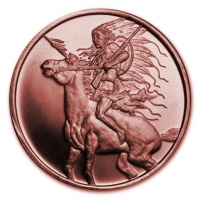 USA - Red Horse - 1 Oz Kupfer