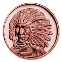 USA - Red Cloud - 1 Oz Kupfer
