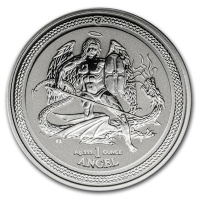Isle of Man - 1 Angel 2016 - 1 Oz Silber Reverse Proof