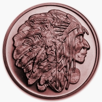 USA - Medallion Chief - 1 Oz Kupfer