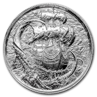 USA - Pirates Der Kraken - 2 Oz Silber