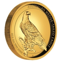 Australien - 200 AUD Wedge Tailed Eagle 2016 - 2 Oz Gold HighRelief