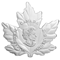 Kanada - 10 CAD Shaped Maple Gänse 2016 - 1/2 Oz Silber
