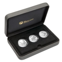 Australien - 3 AUD HighRelief Collection 2016 - 3 * 1 Oz Silber