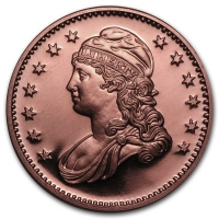 USA - Capped Bust - 1 Oz Kupfer