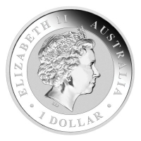 Australien - 1 AUD Wedge Tailed Eagle 2017 - 1 Oz Silber
