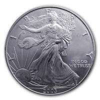 USA - 1 USD Silver Eagle 2003 - 1 Oz Silber