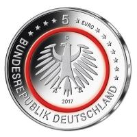 Deutschland 5 Eur Tropische Zone 2017 Komplettsatz Spiegelglanz
