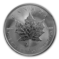 Kanada - 5 CAD Maple Leaf 2015 - 1 Oz Silber F15 Privy