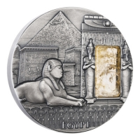 Niue - 2 NZD Imperial Art Ägypten - 2 Oz Silber Antik Finish