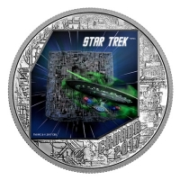 Kanada - 20 CAD Star Trek The Borg 2017 - 1 Oz Silber