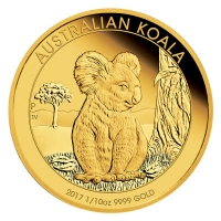 Australien - 15 AUD Koala 2017 - 1/10 Oz Gold Proof