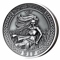 Cook Island - 10 CID Norse Gods Sif - 2 Oz Silber