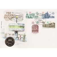 Numisbrief 750 Jahre Berlin Briefmarke 5 Mark Münze Im Online