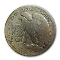 USA - 1/2 USD Half Dollar Walking Liberty 1921 - Silbermünze
